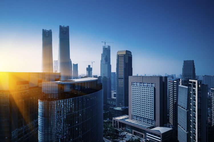 edificios inteligentes ciudad