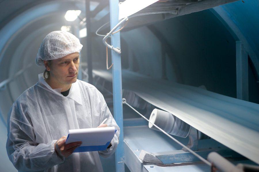 Limpieza y desinfección en la industria alimentaria.