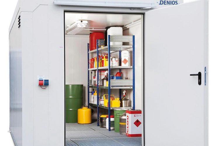 Reglamento de Almacenamiento de Productos Químicos.