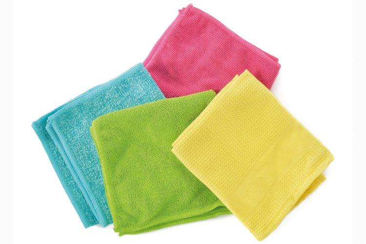 Códigos de colores para la limpieza.