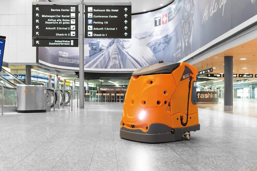 intellibot diversey inteligencia robot IoT