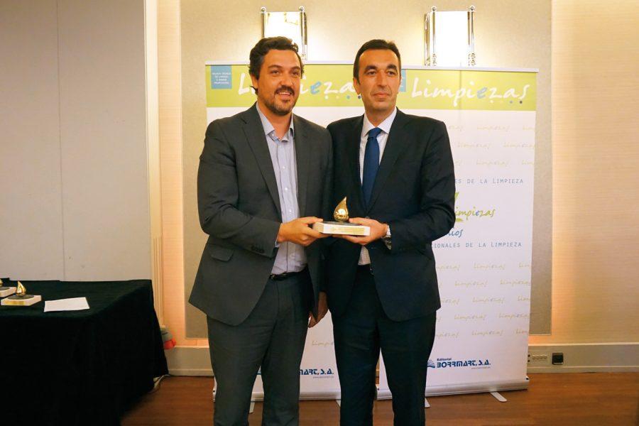 XII Premios Nacionales de la Limpieza. Tennant