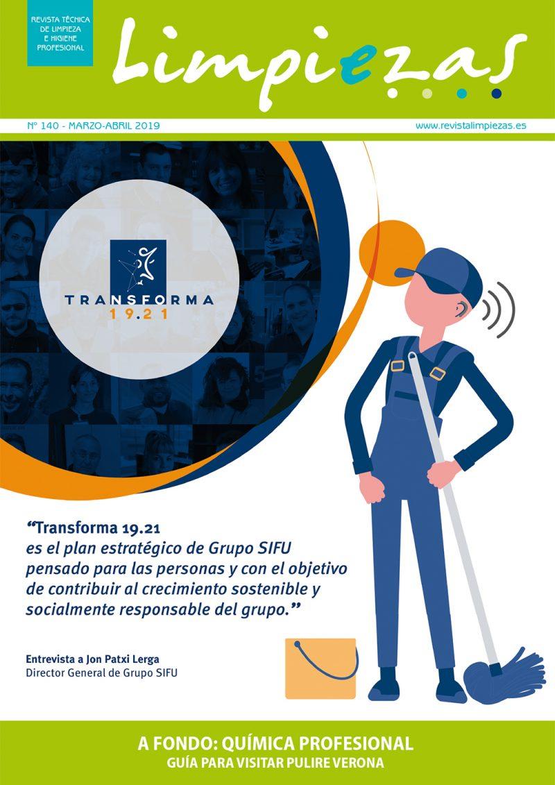 Revista Limpiezas Nº 140.