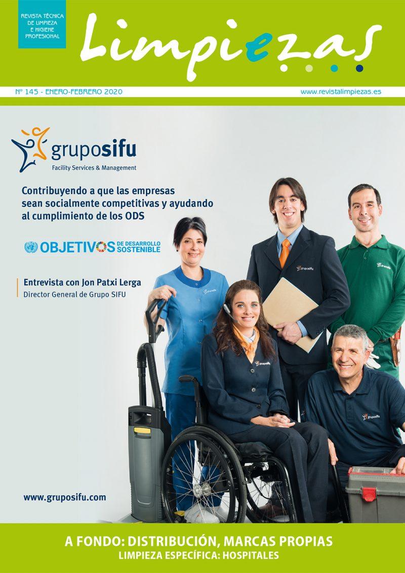 Revista Limpiezas Nº 145.