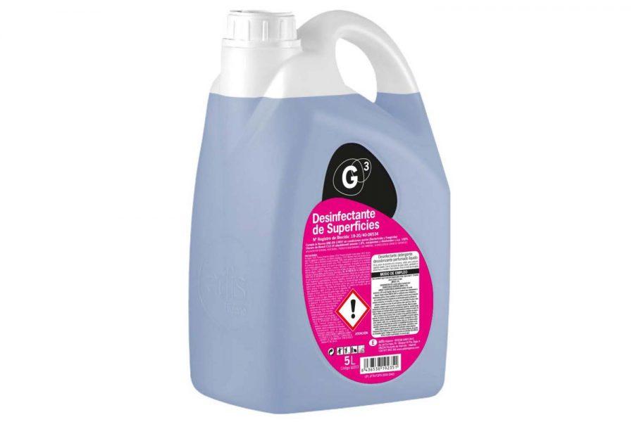 desinfectante de superficies G³