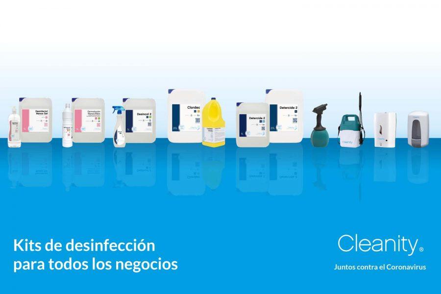Cleanity_kit de desinfección
