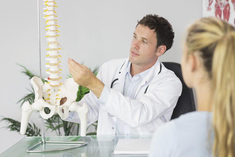 Espalda, médico