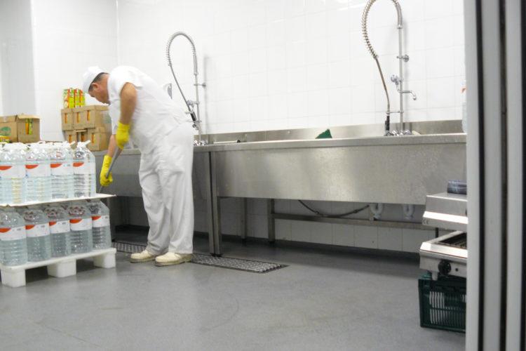 higiene limpieza suelos superficies