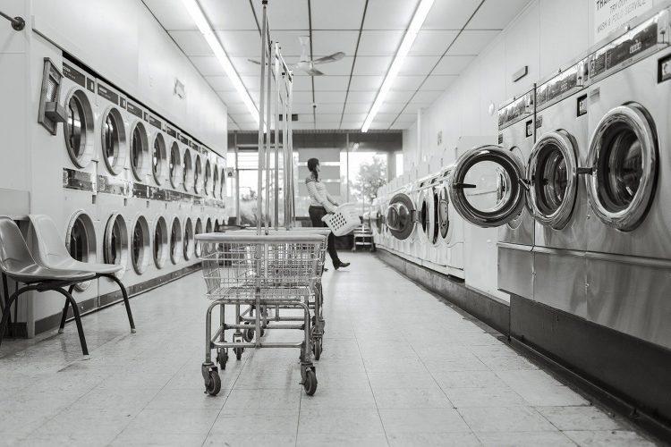 Lavado de ropa.