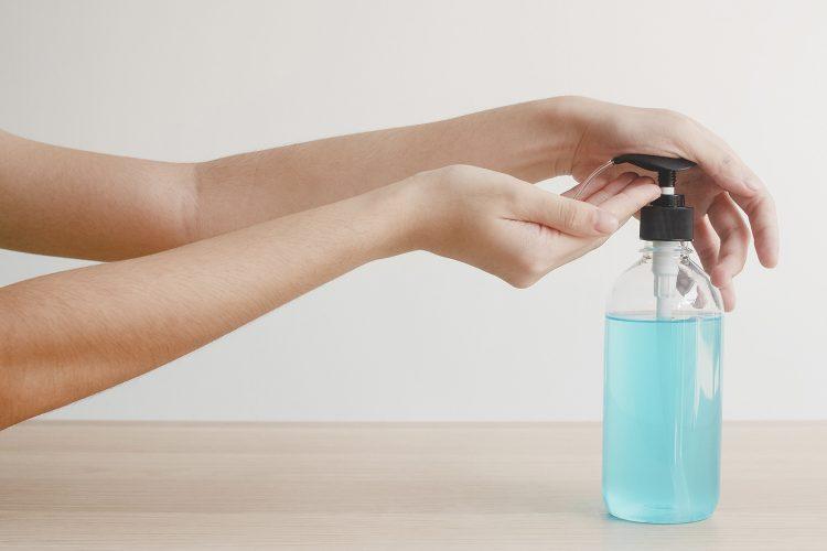 limpieza de manos, desinfección, jabón