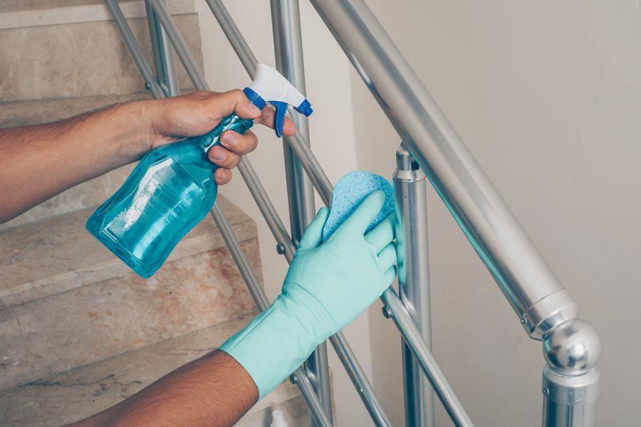 Limpieza, desinfección, superficies