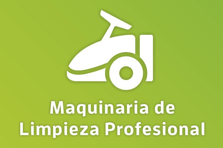 Maquinaria limpieza profesional