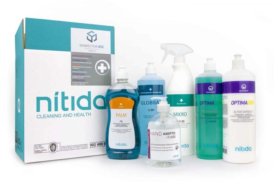 Disinfection box Nitida