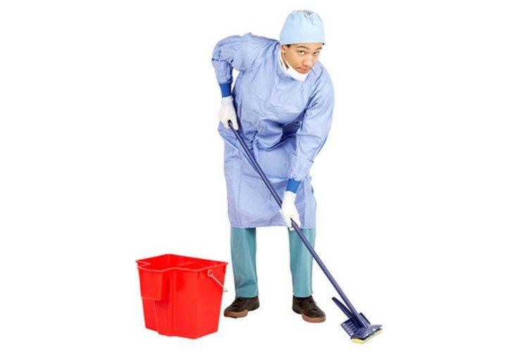 Operario limpieza