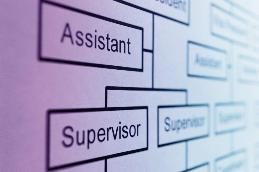 estructura supervisor de limpieza