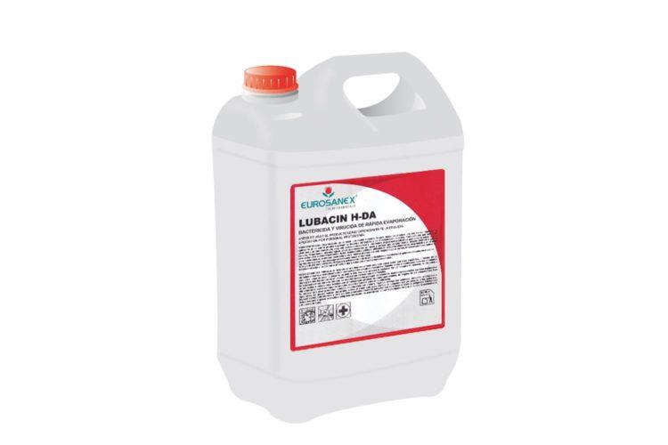 Eurosanex DDD 3250_LUBACIN H-DA. Bacteric ida rápida evaporación - 5 L