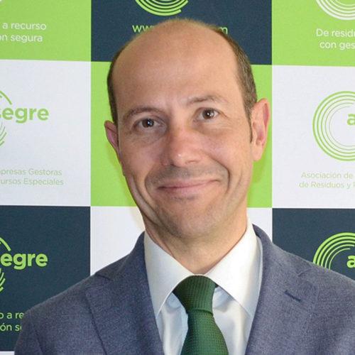 Luis Palomino Secretario General de la Asociación de Empresas Gestoras de Residuos y Recursos Especiales (ASEGRE)