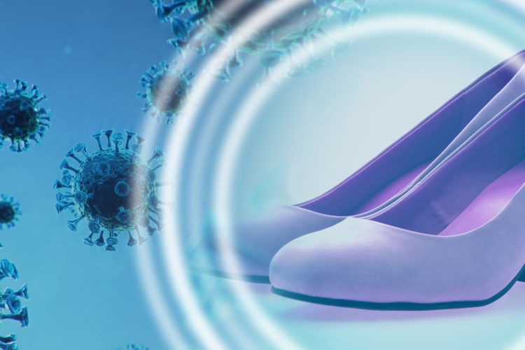 calzado, zapatos, COVID, coronavirus