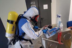 Higienización con ozono.
