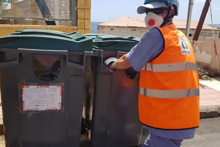 limpieza urbana, resuduos urbanos, coronavirus