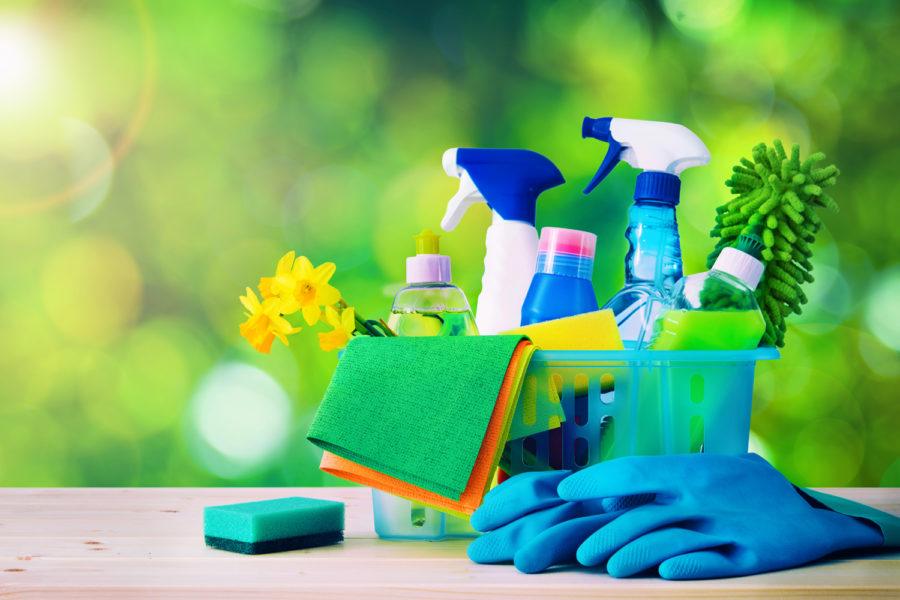 limpieza concepto higiene