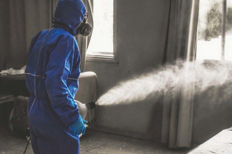 actualia desinfección limpieza