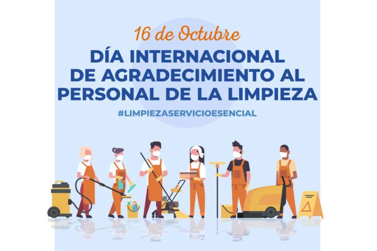 día internacional de agradecimiento a la persona de limpieza