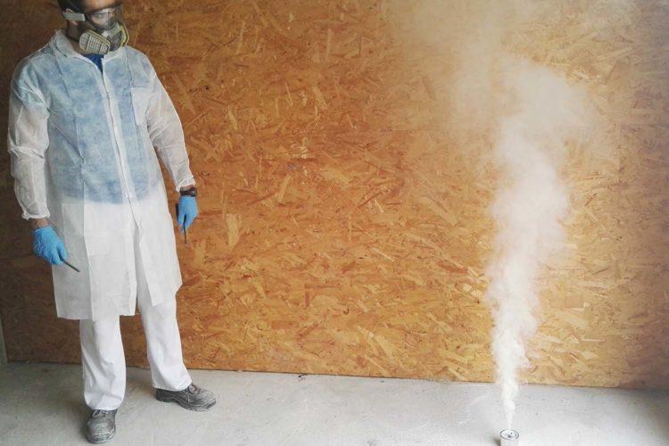 Desinfección aérea coronavirus.