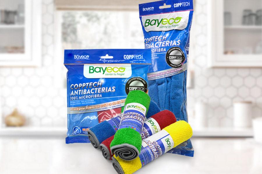 gama de bayetas coronavirus