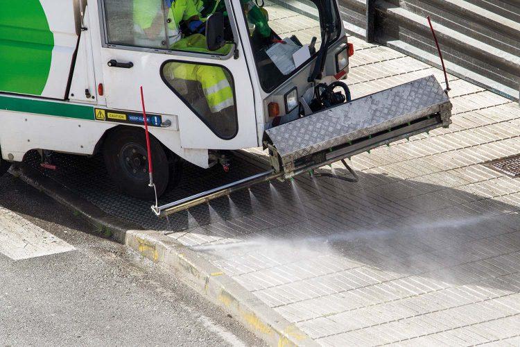 limpieza viaria residuos maquinaria