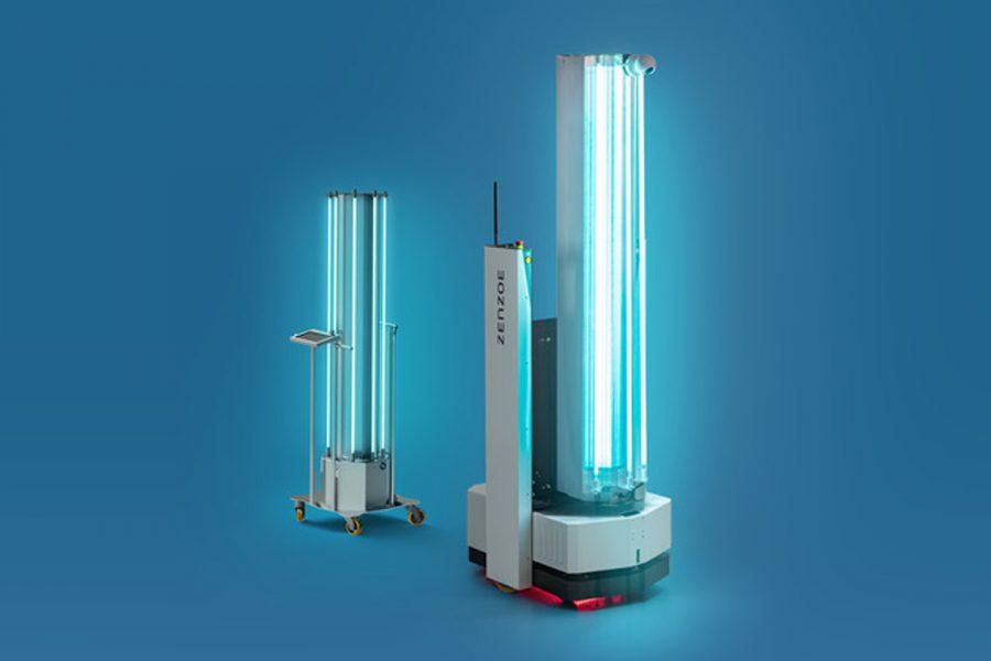 Desinfección con luz UV-C