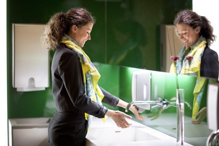 higiene en oficina tork desinfección