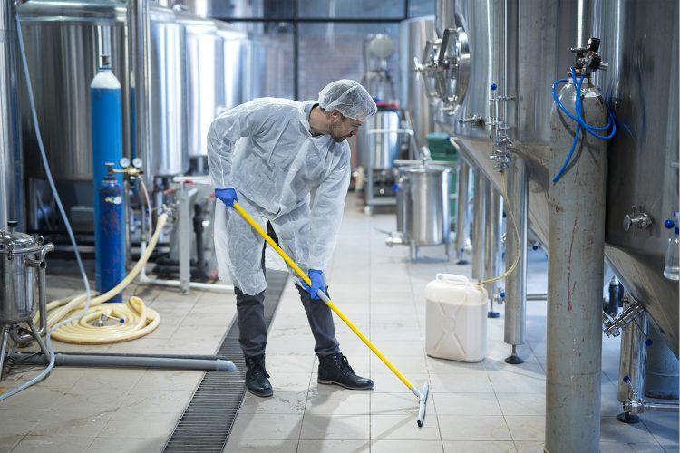 Higiene plantas de producción