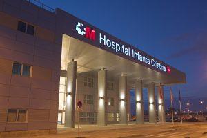 Limpieza en el Hospital Infanta Cristina