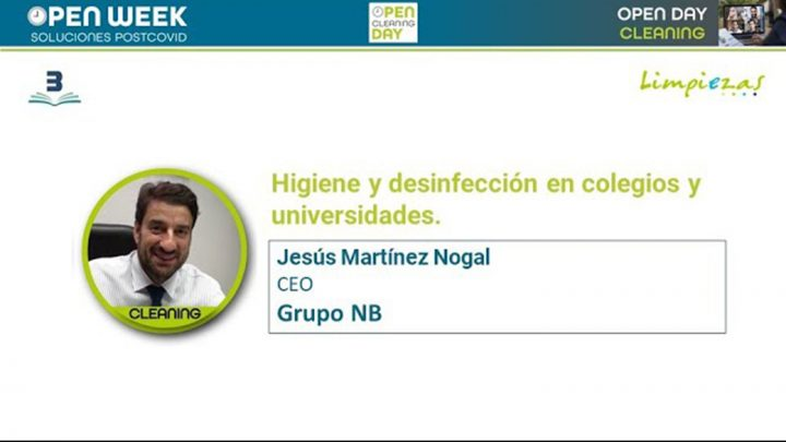 Jesus Martinez. Grupo NB. Cleaning Open Day 2020