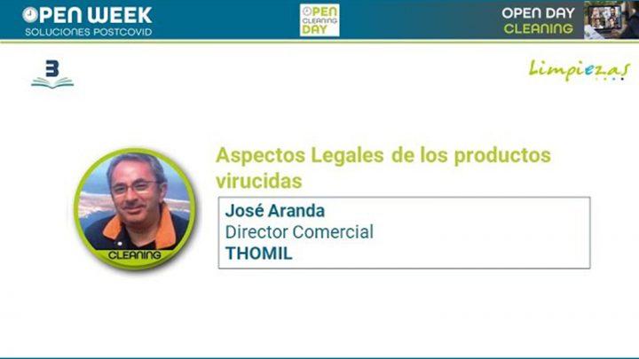 José Aranda. Thomil. Cleaning Open Day 2020