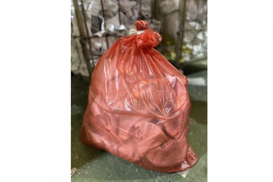 Bolsa lavandería textil desinfección