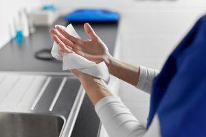 ETS lavado de manos