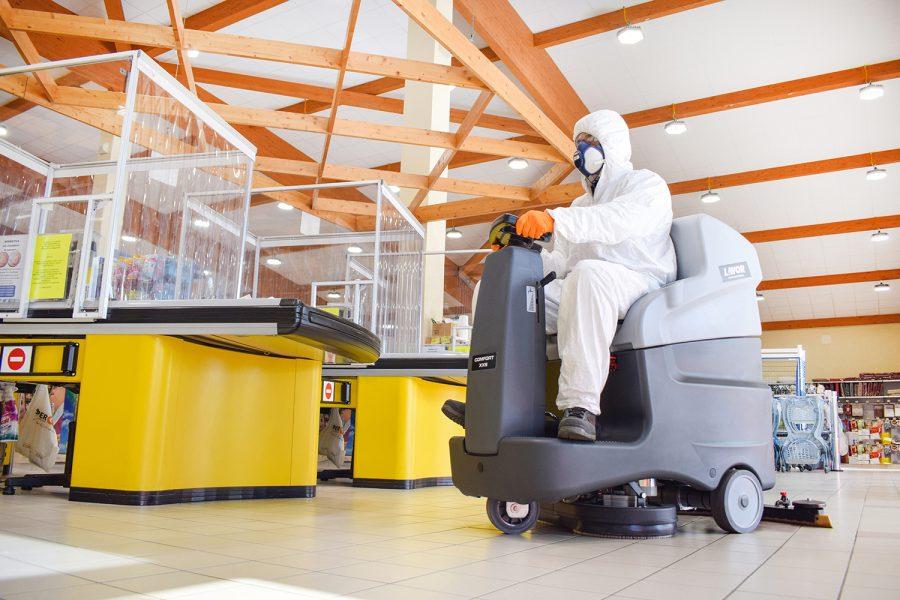 IDS casse Low desinfección Lavor