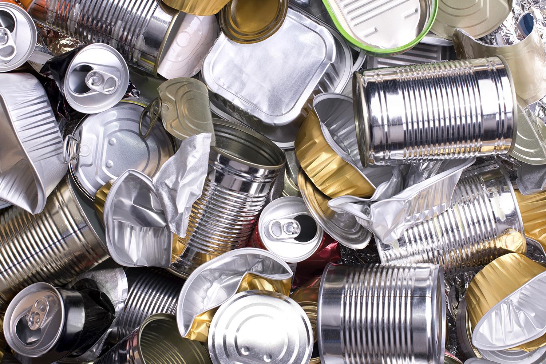 Latas de Aluminio, reciclaje, medioambiente