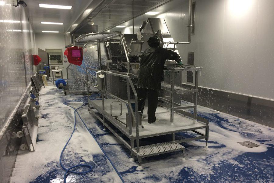 Limpieza e higiene en la industria alimentaria
