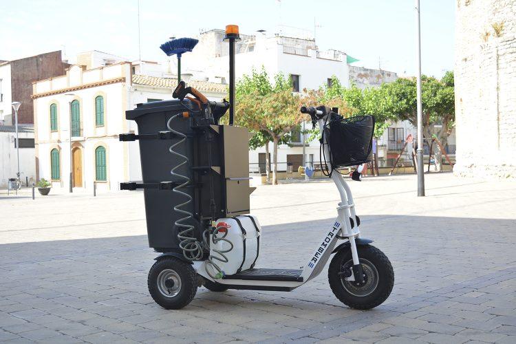 Triciclo eléctrico Tromber Clean_2