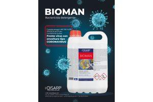 Bioman bactericida detergente disarp