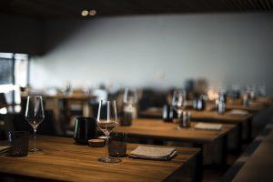 Interior restaurante, hostelería, pandemia