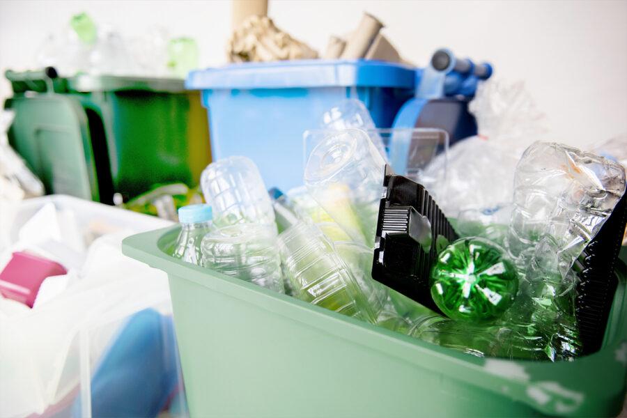 Gestión de residuos, plástico, reciclado, reciclaje