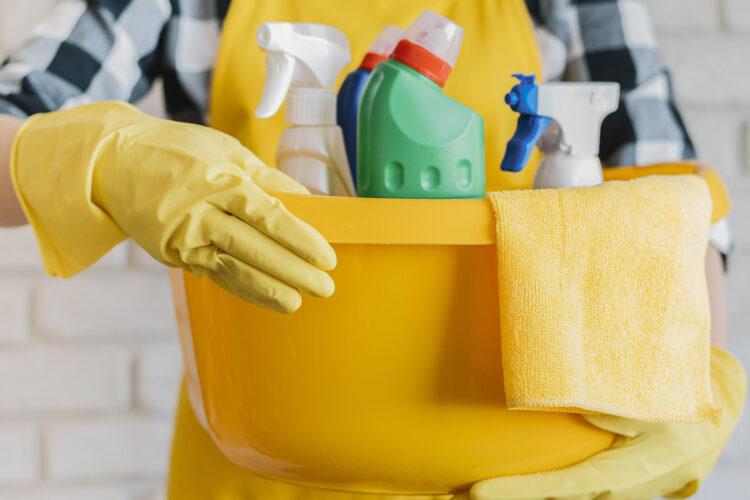 Productos de limpieza en el hogar