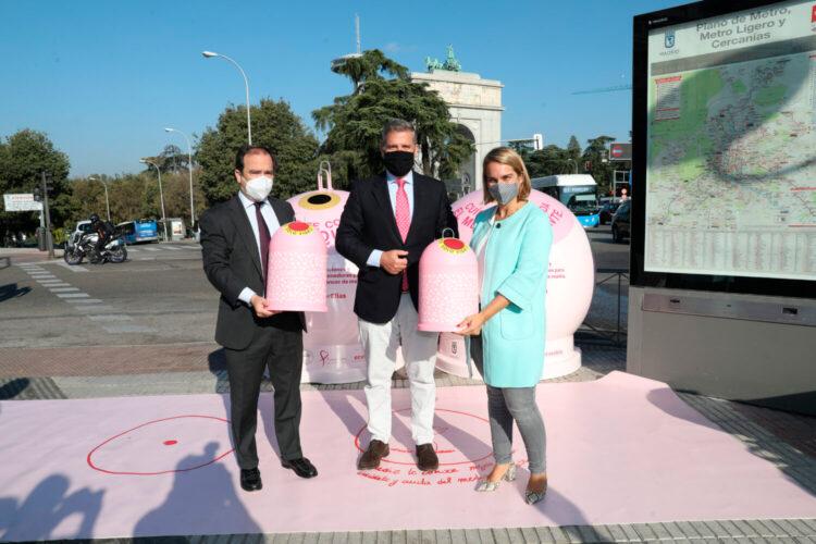 Campaña en Madrid Recicla vidrio por ellas 2021